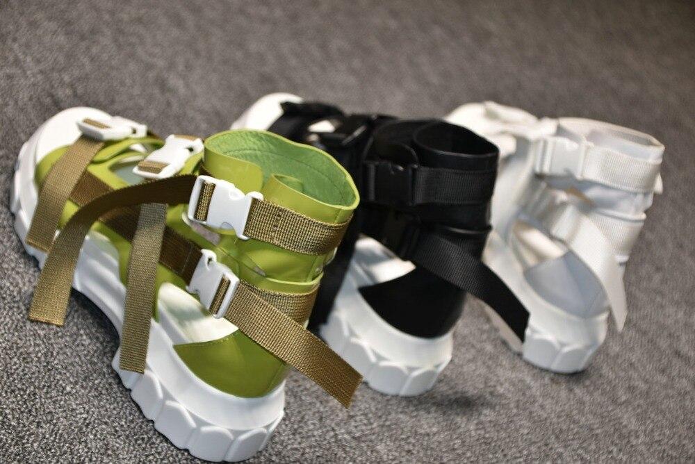 as De Mode Nouveauté Talons Fille As Couleur Non Chaussures Mixte dérapant Show Show Designers D'été Sabot Boucle Bande Six Sandales Patchwork Large Femmes nY4qXS1