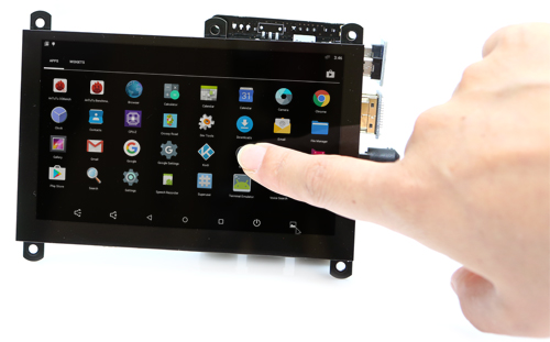 ODROID-VU5 5inch 800x480 HDMI Display Multi-touch