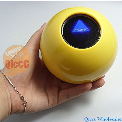Wholesale 12pcs/lot New mystical magic ball toy can answers to everything very funny gift for children and adults dia10cm