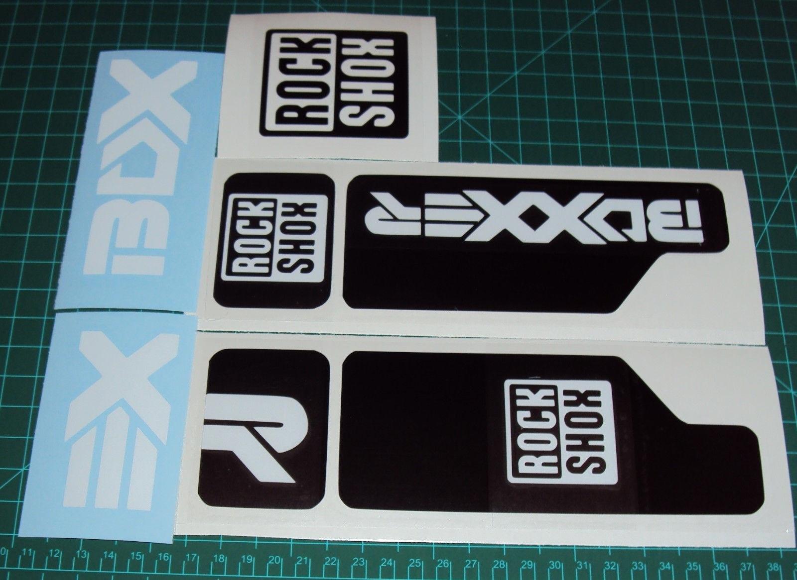 SR Suntour Epixon Style Suspension Fork Decal//Stickers Replacement Vinyl