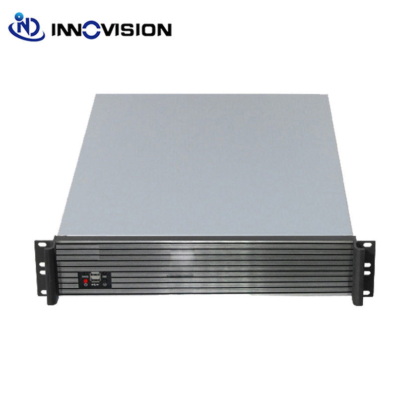 Compact 1U Rackmount Chassis RC2650 With Elegant Aluminum Front Panel