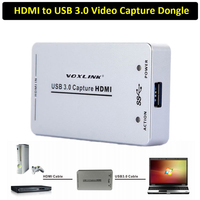 VOXLINK XI100D 1080P 60FPS UVC USB 3 0 HDMI Capture Dongle USB2 0 HDMI Capture Card