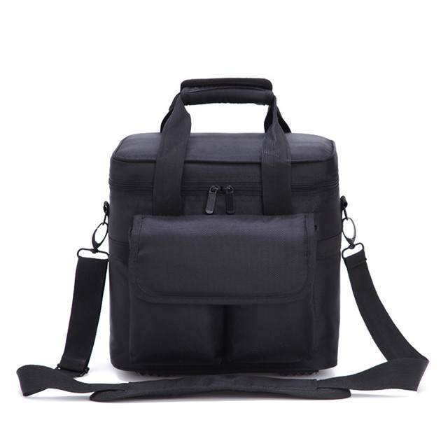 Free Shipping Oxford Quality Black Color Picnic Cooler Bags Lunch Bag Thermal Bags for Food Handbags LYBW016