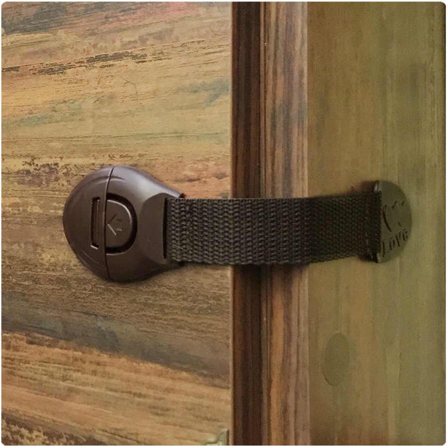 1 Pcs เด็กล็อคป้องกันเด็กล็อคประตูเด็กเด็กความปลอดภัยพลาสติกล็อคเด็กความปลอดภัยสำหรับลิ้นชัก