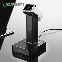 Ugreen 2 в 1 Магнитный Стенд Зарядное Устройство с 2 usb Зарядное Устройство Док для Apple Watch iPhone 6 6 s 5c для Samsung S6 для iPad Air