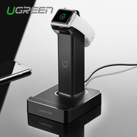 Ugreen 2 In 1 Magnetic Stand Charging Station With 2 Usb Charger Dock For Apple Watch