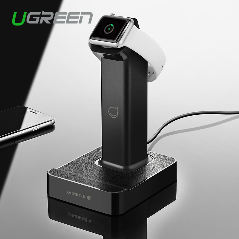 ugreen 2 in 1 magnetic stand charging station with 2 usb. Black Bedroom Furniture Sets. Home Design Ideas