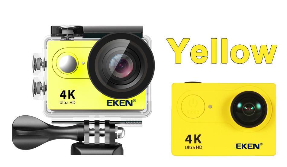 """EKEN H9R/H9 Ultra HD 4 K/30fps WiFi 2,0 """"170D impermeable bajo el agua 21"""