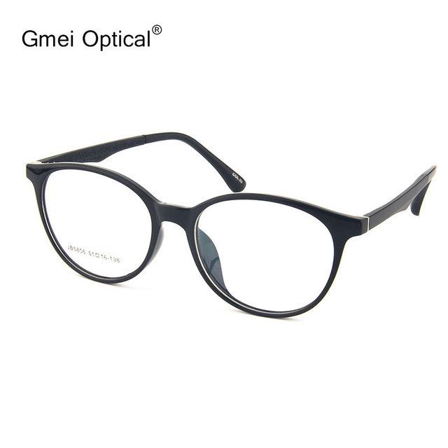 Gmei Óptico JB5806 Oval Tr-90 Gafas De Marco de Acetato del Lleno-Borde para Las Mujeres Gafas Gafas con 5 Colores Opcionales