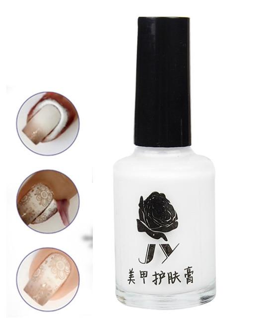 15ml valge kooriv nail art lint Viimased lindipalad lihtsaks - Küünekunst - Foto 1