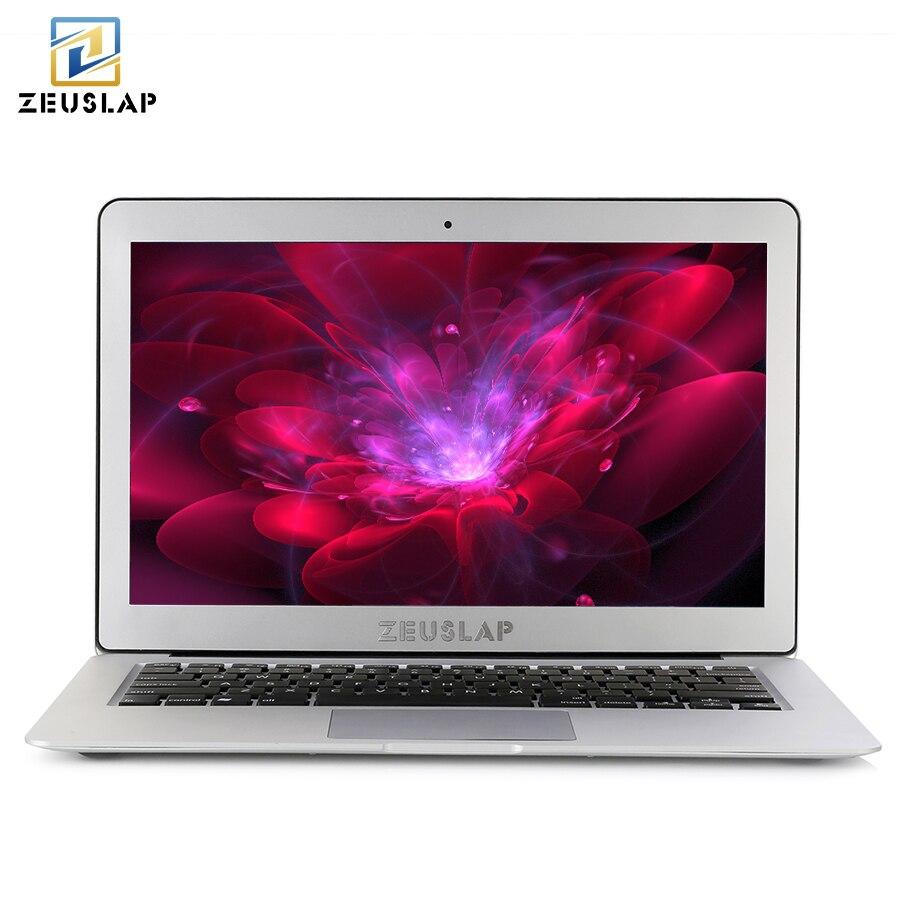 ZEUSLAP 13.3 pouces Intel Core i5 CPU 8 GB ram 128 GB ssd Windows 10 Pro 1920X1080 P ips FHD Course Rapide Ordinateur Portable Notebook ordinateur