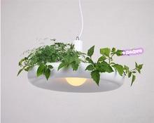 The countryside flower art design creative personality lamp chandelier restaurant dining room balcony corridor lighting lamp