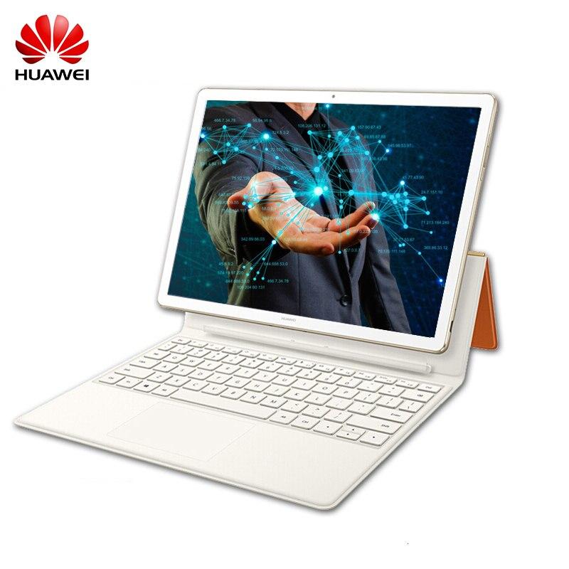 "12,0 ""Huawei MateBook E 2 в 1 4 ГБ LPDDR3 128B SSD Tablet PC 7th Intel Core M3-7Y30 Windows 10 отпечатков пальцев ID 2160*1440 IPS"