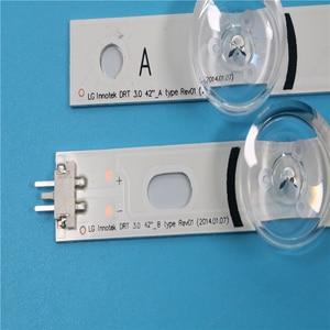 """LED Backlight strip 8 Lamp For LG 42 inch TV INNOTEK DRT 3.0 42"""" 6916L 1709B 1710B 1957E 1956E 6916L-1956A 6916L-1957A 42LB561v(China)"""