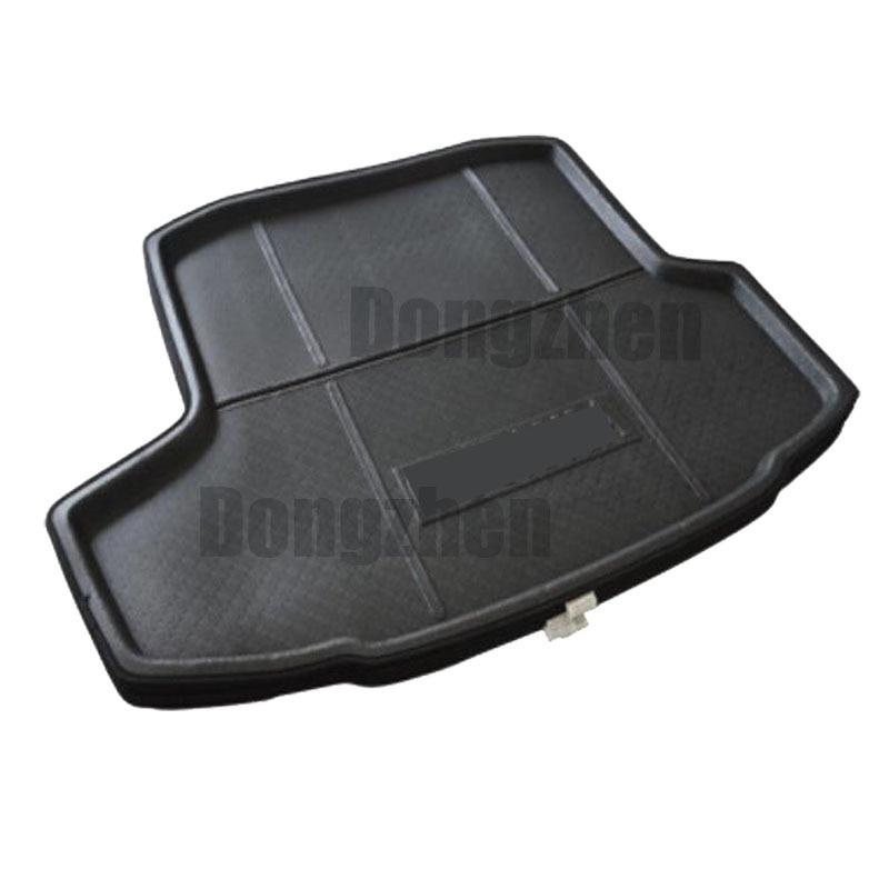Car Auto Rear Trunk Mat Boot Liner Cargo Floor Mat Tray Sticker Dog Pet <font><b>Cover</b></font> fit for Skoda Octavia 2014-2016 Car Accessory