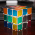 Professional Magic Cube Classic Toys Fun Antistress Neo Cubes Magico Cubo Transparent Heart Luminous Cube Educational Toy 70B113