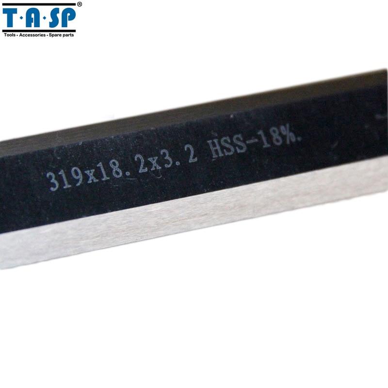 TASP 319mm HSS storio planšetinis peiliukas 319x18,2x3,2 mm Ryobi - Medienos apdirbimo mašinų dalys - Nuotrauka 2