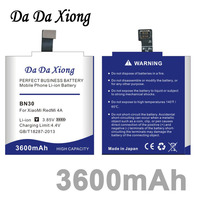Da Da Xiong 3600mAh BN30 Battery For Xiaomi Redmi 4A