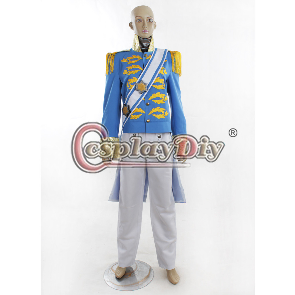 online shop cinderella prince charming wedding cosplay costume adult men halloween outfit custom made d0629 aliexpress mobile - Prince Charming Halloween Costumes