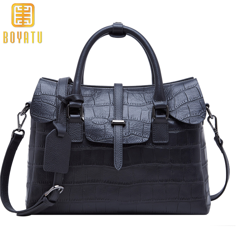 Genuine Leather Shoulder Bag Women Brand Luxury Handbags Women Bags Designer Fashion Ladies Purse Sac A Main Bolsa Feminina 2017 fashion shoulder handbag litchi genuine leather luxury ladies handbags women bags female designer bag bolsa feminina sac
