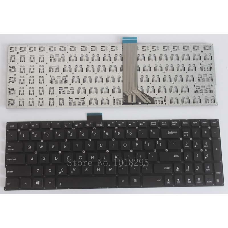 NEW For ASUS X551C X551M X551MAV F551 F551C F551CA F551M F551MA F551MAV R512 R512CA R512MA R512MAV Black US Laptop Keyboard