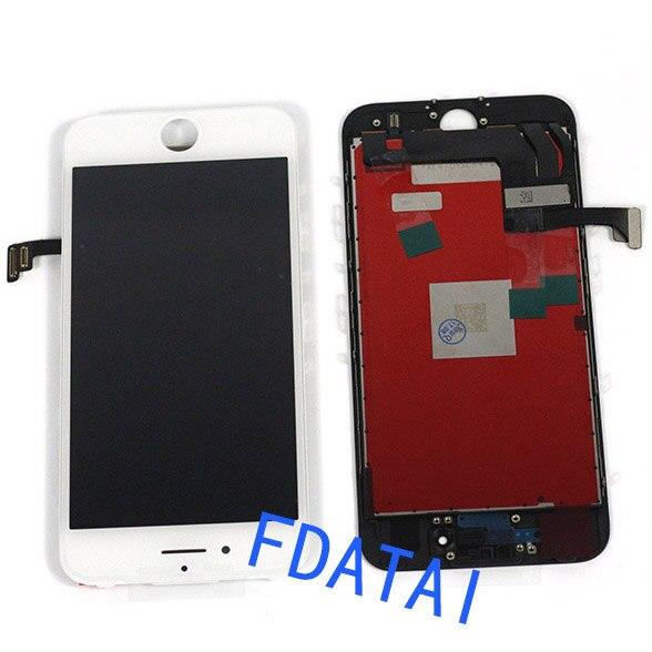 imágenes para Para El Iphone 7 7 plus Pantalla Lcd Pantalla 4.7 o 5.5 pulgadas Para Iphone7 Pantalla Lcd Y Montaje Del Digitizador Del Tacto negro blanco