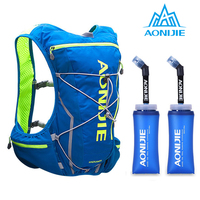 AONIJIE E904S Nylon 10L Outdoor Bags Hiking Backpack Vest Professional Marathon belt run Cycling Backpack for 2L Water Bag