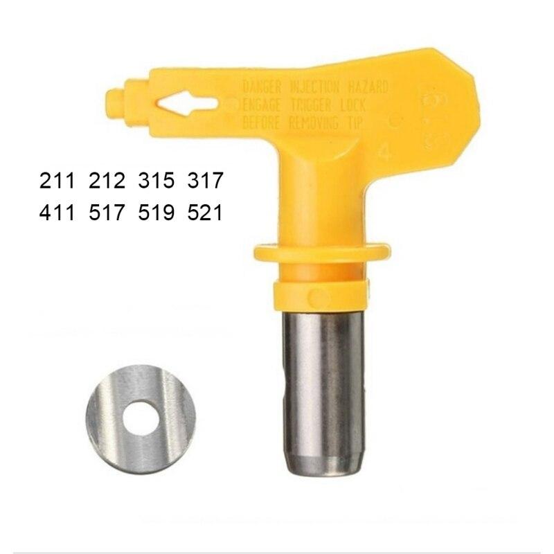 Varies Type Airless Spray Gun Nozzle 211,315,317,411,517,519,521 Airless Paint Spray Tip Sprayer Nozzles 1075