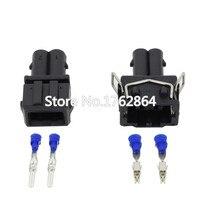 2 Pin auto wasserdichten stecker mit endstopfen DJ7024 3.5 11/21 2 P auto stecker|connector waterproof|connector 2connector 10 -
