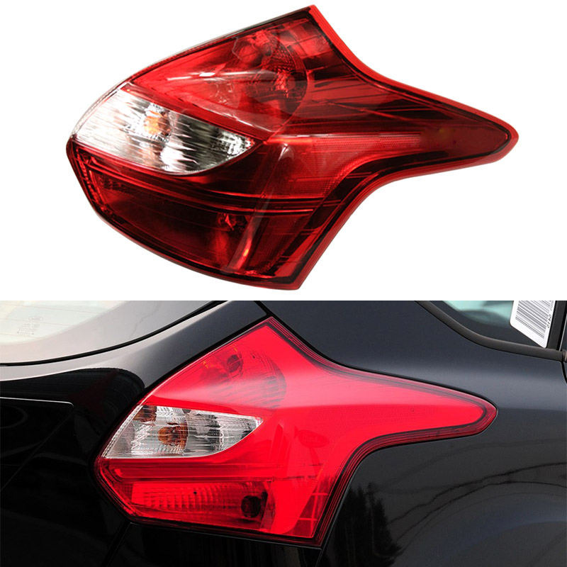 Fast Shipping Rear Tail Light Lamp for Ford Focus Hatchback 2012 2013 2014 Car Styling Accessories Left Right Day Time Running xuankun motorcycle accessories lx650 left and right tail body