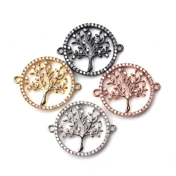 Life Tree Pave Necklaces Pendants
