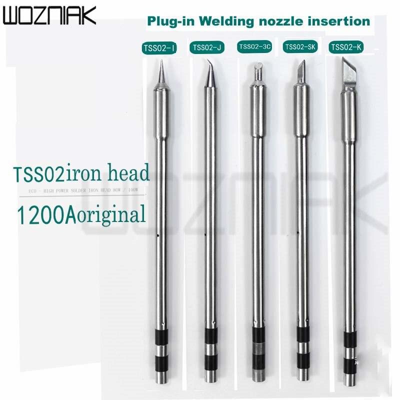 الأصلي سريعة TS1200A لحام خالي من الرصاص الحديد تلميح مقبض لحام القلم أدوات TSS02-SK TSS02-K TSS02-I TSS02-2C TSS02-3C