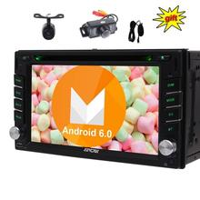 Eincar Android 6.0 GPS Car Audio DVD стерео 2Din автомобиль DVD плеер Авторадио WiFi Зеркало Ссылка головного устройства + бесплатная микрофон две камеры