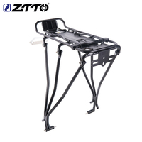 Bicycle Rear Rack Mountain Bike Rear Carrier Bicycle Luggage Carrier Shelf Cycling Cargo Bag Holder For Disc Brake V Brake
