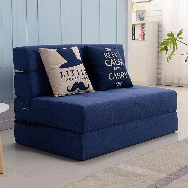 Lipat Malas Sofa Bed Tatami Kasur Keras Single Double Ruang Tamu