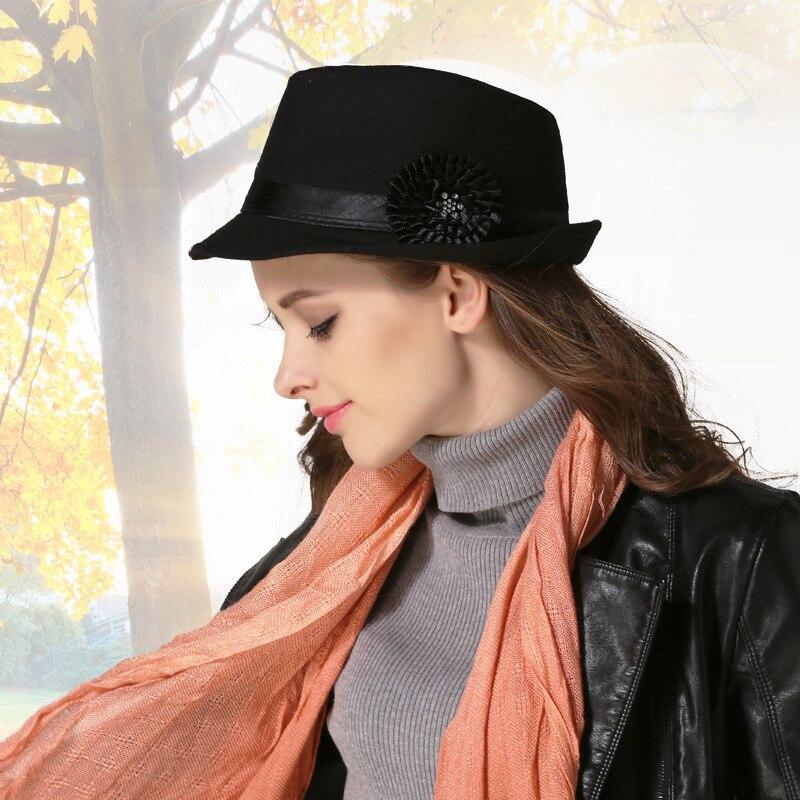 Solblomma cap mode elegant solblomma dekorativ hatt höst och - Kläder tillbehör - Foto 6