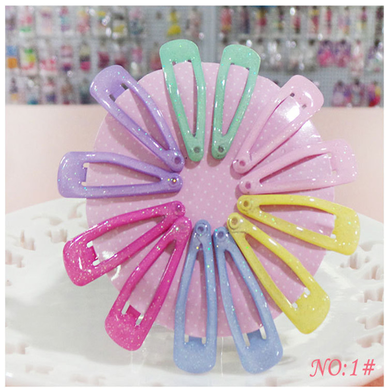Cute Korean Hair Clip Flower Girls Solid Small BB Hairpins Handmade Resin Haar Accessoires Headband Princess Gift 12 Pcs цена и фото