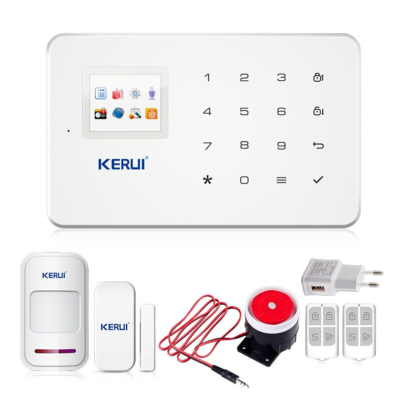 Buy kerui factory g18 android iso app for Smart home alarm system