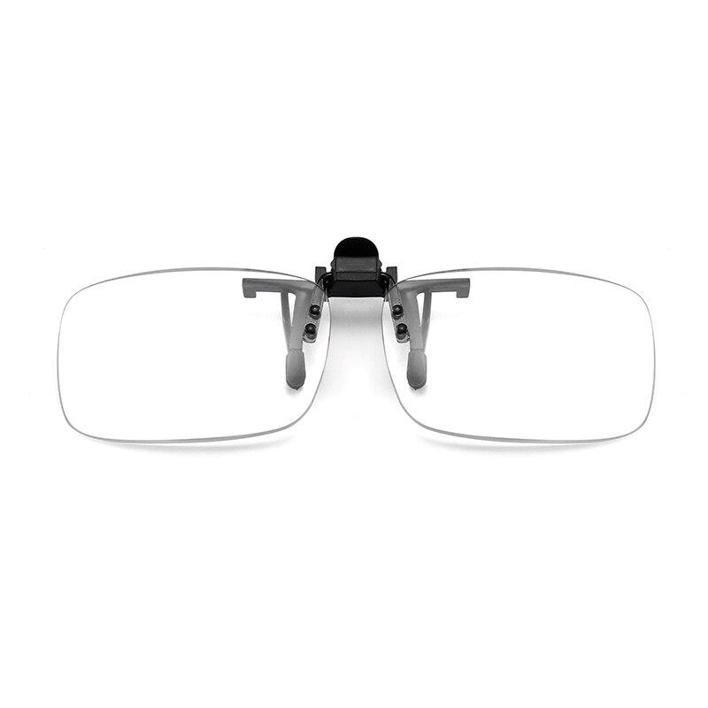 Flip Clip On flip up down Reading Glasses Men Women Flip Clip Presbyopic Glasses Rimless Portable Reading Computer Glasses