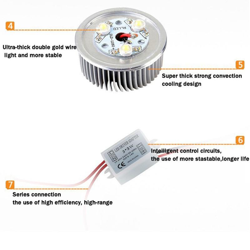 Downlights recessed spot light ac85-265v para Usage : Holiday