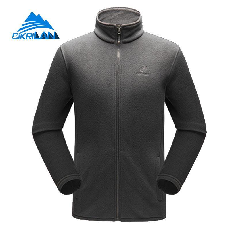 Thermal Outdoor Sport Climbing Camping Hiking Fleece Jacket Men Long Sleeve Bodywarmer Coat Fishing Trekking Casaco Masculino