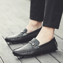 Casual Leather Loafer Shoes Men Soft Comfortable Driving Shoes Men Moccasins Footwear Moccasin Casual for Men Schoenen