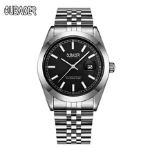 купить Horology Quartz Waterproof Watch Men's Stainless Steel Calendar Watches Business Man Wristwatch Horloge Mannen Relojes Hombre по цене 1238.21 рублей