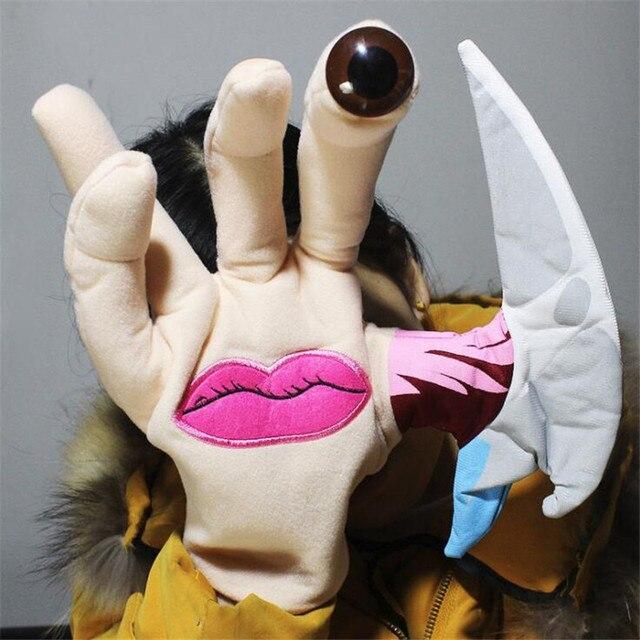 Перчатка на руку аниме паразит
