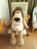 stuffed toy large 75cm cartoon jungle lion plush toy soft doll throw pillow Christmas gift s2504