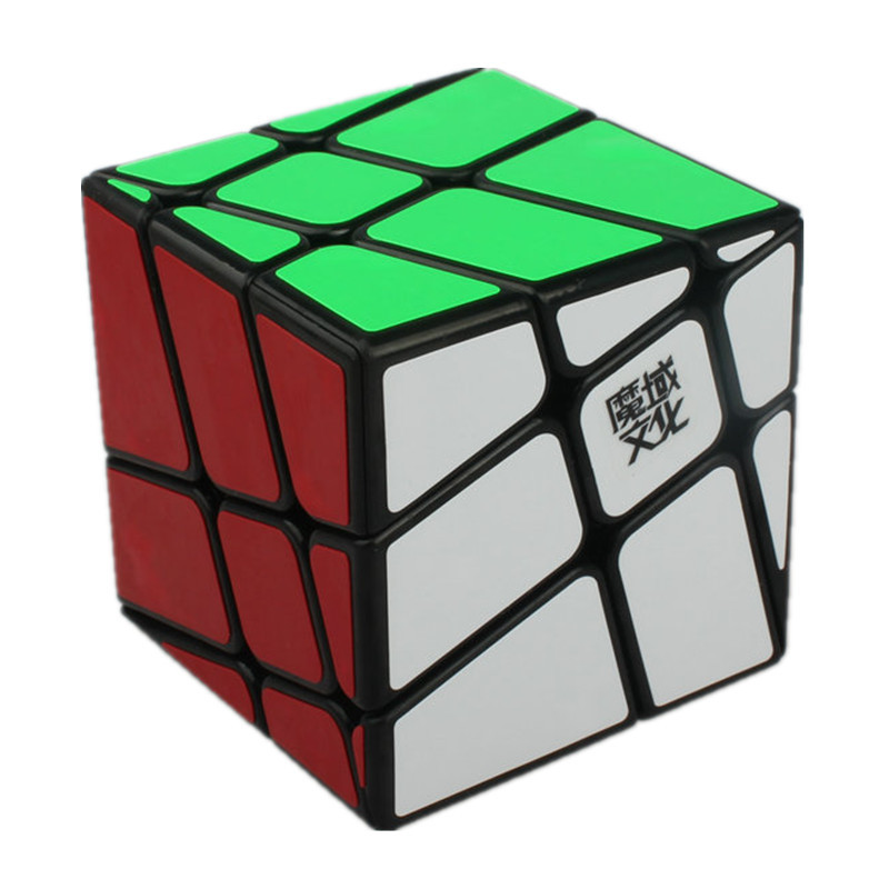 New Brand Moyu 5.7cm Crazy Windmill Cube Magic Cube Twist Puzzle Toy Educational Toys Wind Fire Wheels 3x3x3 Speed Cube
