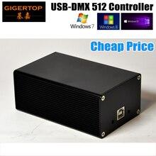 Китай DMX512 Свет Этапа Контроллер Box HD512 Универсальный USB DMX Dongle 512 Каналов ПК/В Автономном Режиме SD Мартин MPC Lightjockey