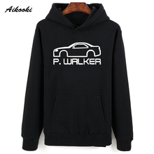 Aikooki Fast & Furious 8 Winter Hoodies Men USA Popular Film Casual Hooded Brand Sweatshirt Men Hoodies Classic Famous Clothes