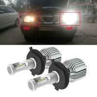 1 Pair Car Headlights Kit H1 P14 5s Auto Front LED Bulb 72W 8000lm Automobiles Headlamp