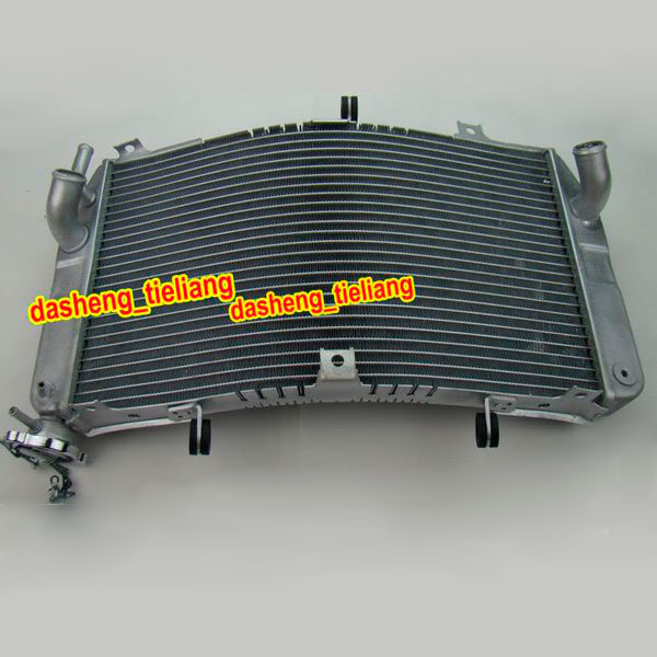 Cooling Radiator for Suzuki 2000-2002 GSXR 1000 & 2001-2003 01 02 03 GSX-R 600 750 K1 K2 Grille Guard Aluminum